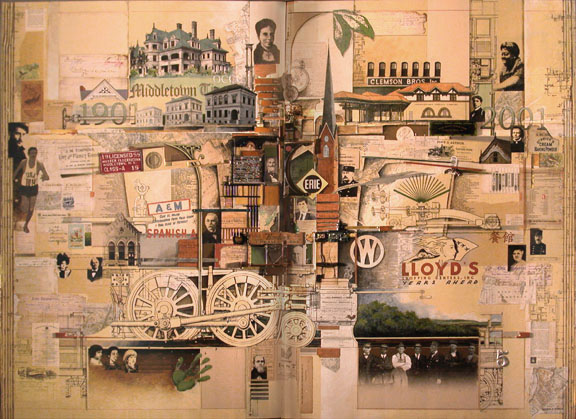 Talbot Collage At Thrall Library- Images